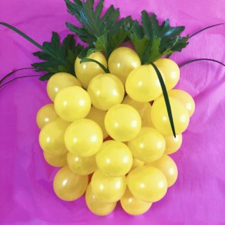 DIY Pineapple Balloon