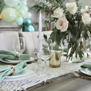 Green with Love: Fall Bridal Shower