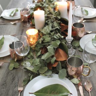 The Perfect Table Setting for Fall and Winter