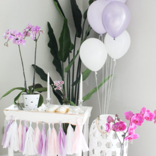 Party Styling: Using Items From Around Your House