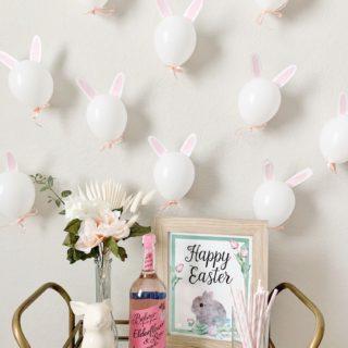 DIY Bunny Balloons