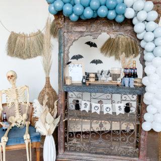 Here for the Boos – Moody Boho Halloween Bar