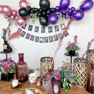 How to style a Glamorous Hocus Pocus Theme Party